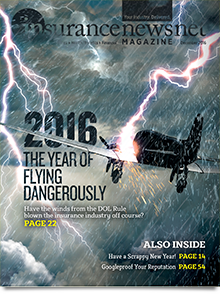 InsuranceNewsNet Magazine December 2016 Cover