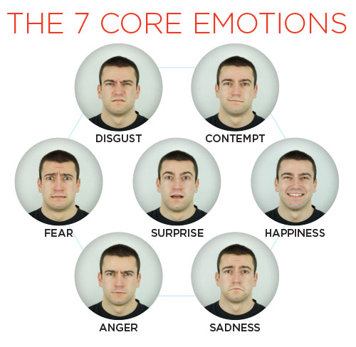 The 7 Core Emotions