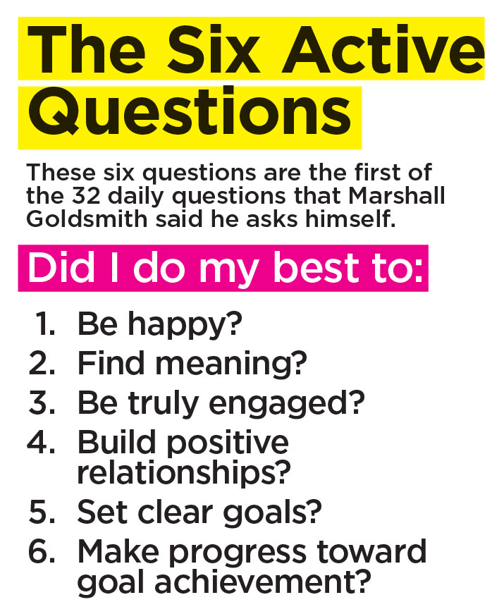 The Six Active Questions