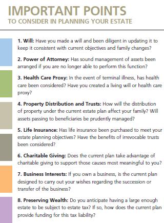 the importance of an estate planning checklist insurancenewsnet