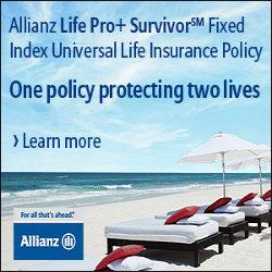 Allianz Life Pro+ Survivor Fixed Index Universal Life Insurance Policy