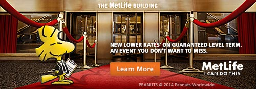 New lower rates on Guaranteed Level Term.