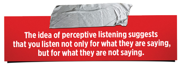 Idea-of-perceptive-listening