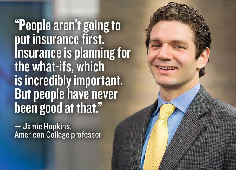 Jamie Hopkins, American College professor