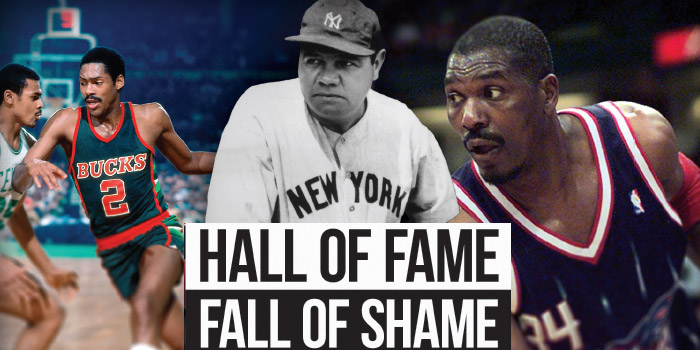 Hall of Fame, Fall of Shame